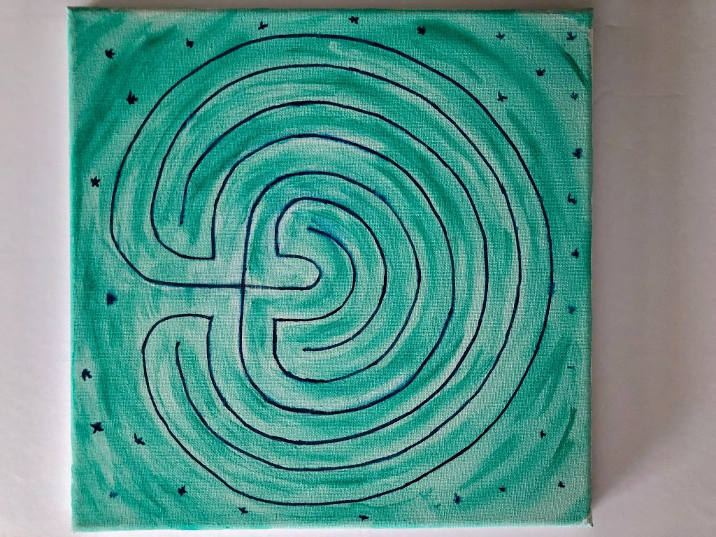 Labyrinth design, The Emergence