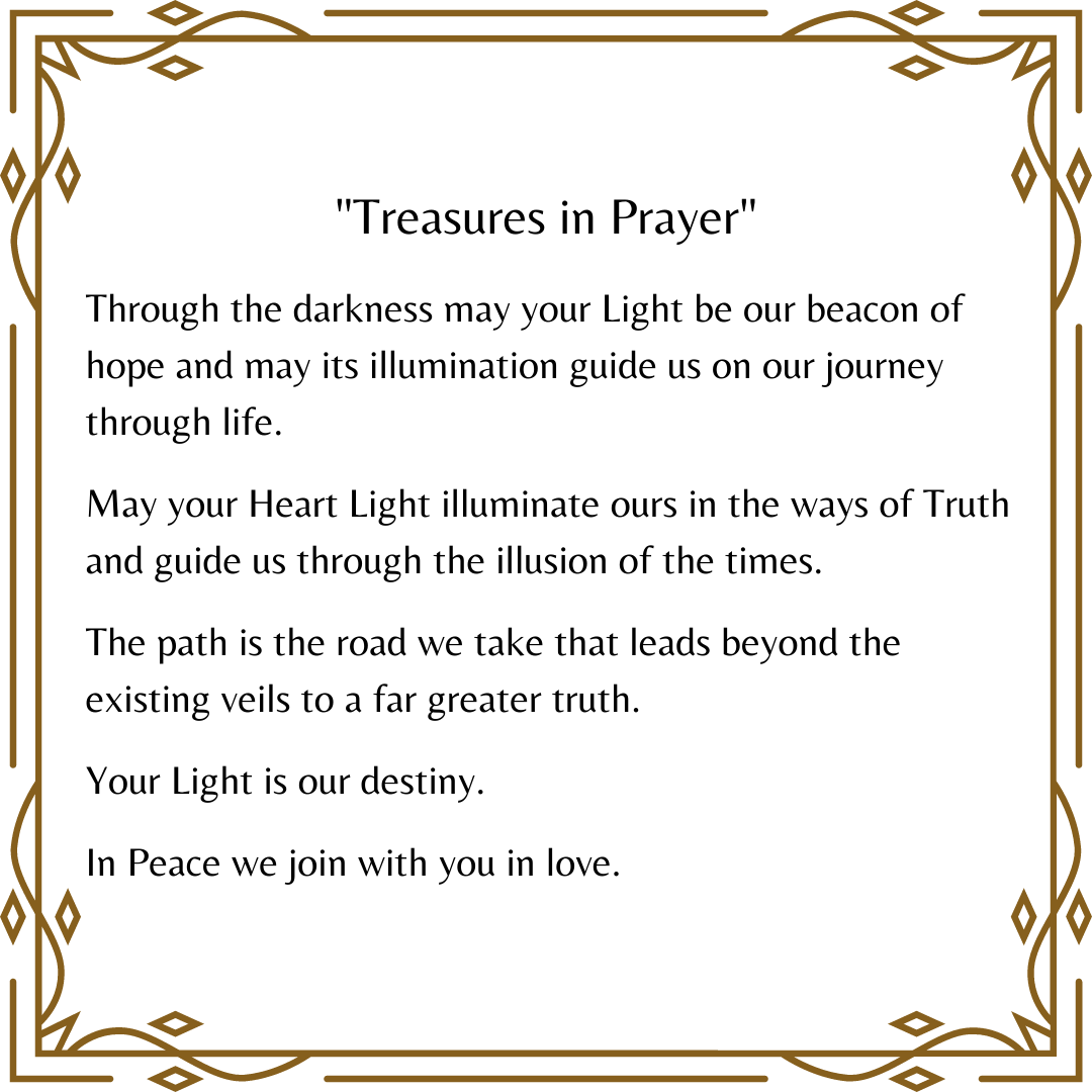 """Treasures in Prayer"" (First Prayer) - Howard A. Cooper"